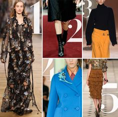 The 5 Runway Trends to Bookmark for Fall