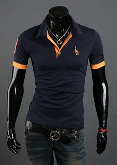 Casual Slim Fit Stylish Short-Sleeve Polo Brand Camisetas Masculina 10 Colors
