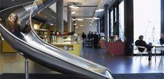 Sala de massagem, aquário e escorregador: como a mudança no trabalho vem alterando os escritórios