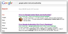 How To Search Your Author Photo In Goole Search Results.: Google Authorship rich snippet search result