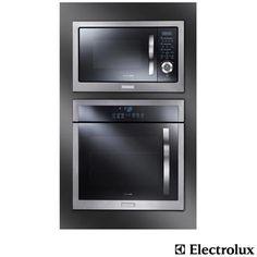 Forno Elétrico de Embutir com Capacidade de 56L, 220V - OE9SX22089 + Forno Micro-ondas de Embutir 28L Electrolux MB38X 220V