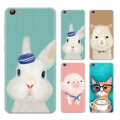 Fashion Design Warm Color Animals Series Phone Case For Vivo X7 5.2-inch / Vivo X7 Plus 5.7-inch Painted TPU Soft Case