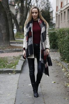 warm cozy scarf - winter must have Winter Must Haves, Cozy Scarf, Warm And Cozy, Autumn Fashion, Diamonds, Ootd, Punk, My Style, Closet