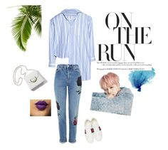 """""""walkin'summer"""" by resyarizky ❤ liked on Polyvore featuring Vetements, Topshop and Gucci"""