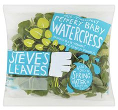 Very nice packaging for salad, design by Big Fish, UK.