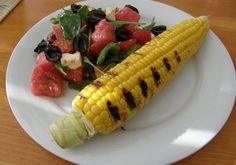 Salát s vodním melounem