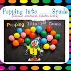 This is an interactive and fun bulletin board for your students to count down the days left of school. I have included a clown if you want to blow ...