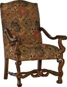Mayo Furniture 1035 Fabric Chair - Adelso Chocolate