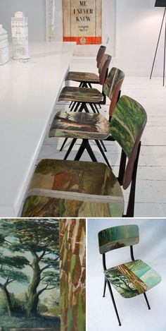 another way to use the old wallpaper