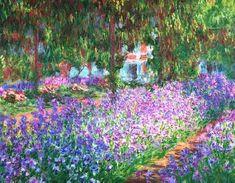 """""""Irises"""" Claude Monet"""