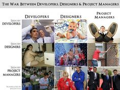 The war between Developers, Designers and Project Managers