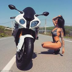 Pronina, who started driving motorcycles when she was 21 years old, wrote online about her...