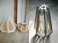 Bloesem Living   Sputnik lamps by Julie Lansom