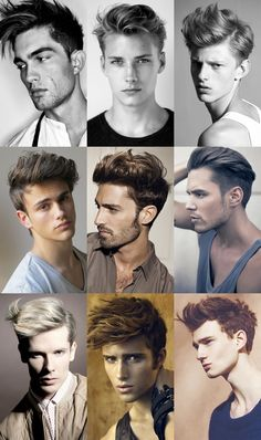 Mens hair quiff style
