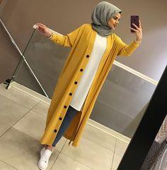 Modern Hijab Fashion, Hijab Fashion Inspiration, Abaya Fashion, Muslim Fashion, Modest Fashion, Fashion Outfits, Hijab Style Dress, Casual Hijab Outfit, Hijab Chic