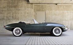 The 1961 Jaguar E-type series  1 3.8 litre Roadster