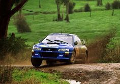 Rally New Zealand 1998 Colin Mcrae.