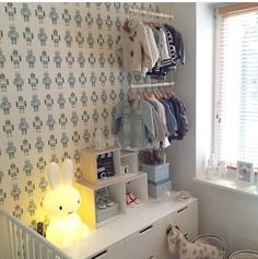 Nordli-kommode IKEA  Miffy lampebilde minikids.no på instagram