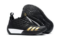 9ba174d8d77 2018 adidas Harden Vol. 2 Black Gold Shoes For Sale Online – New Yeezy Boost