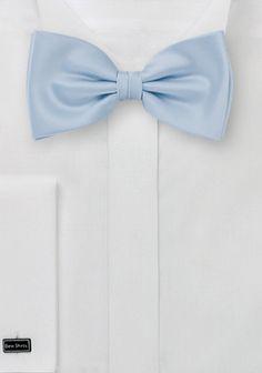 Herrenschleife monochrom taubenblau