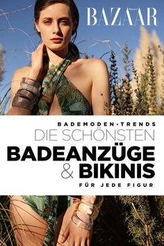 Swimwear Trends Swimsuits and Bikinis for every figure Denim Look, Swimsuits, Swimwear, Outfit, Strand, Chic, Simple, Jeans, Moda Femenina