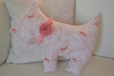 Shabby chic pillow, Nursery decor, Baby nursery decor, Minky pillow, Ly Ly Rose Design on Etsy, $20.00