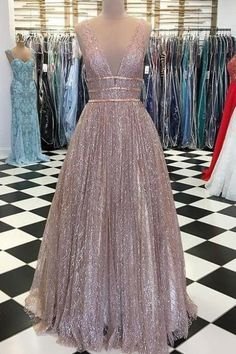 Prom Dress For Teens, Sparkle V-Neck Sleeveless Sliver Sequined Belt Prom Evening Party Dress, cheap prom dresses, beautiful dresses for prom. Best prom gowns online to make you the spotlight for special occasions. Sparkly Prom Dresses, Sequin Evening Dresses, Elegant Party Dresses, Straps Prom Dresses, Open Back Prom Dresses, Prom Dresses 2017, A Line Prom Dresses, Quinceanera Dresses, Sexy Dresses