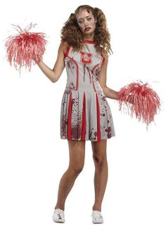 Zombie cheerleader costume homemade halloween costumes pinterest dead cheerleader costume team spirit last longs beyond the grave in this dead cheerleader costume this cheerleader costume is for anyone who wants to give solutioingenieria Gallery
