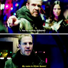 ''My name is OLIVER QUEEN'' #Arrow #3.23