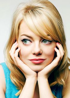 The very beautiful and very cool, Emma Stone...! My Lady Crush