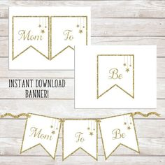 Make this beautiful Twinkle Twinkle Little Star Mom-to-be printable bunting banner in minutes. Download, print, cut, and string with your favorite ribbon!