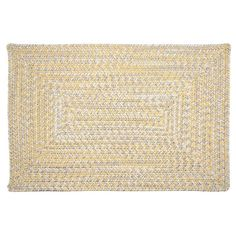 Colonial Mills Antigua Braided Reversible Indoor Outdoor Rug, Yellow