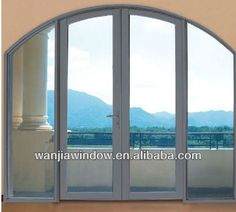 Image result for ALUMINUM arched doors glass