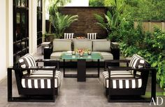 Contemporary Outdoor Space by Jean-Louis Deniot in New Delhi, India