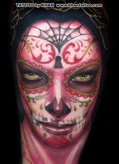 Another Sylvia Ji Tatt - Khan   Tattoo