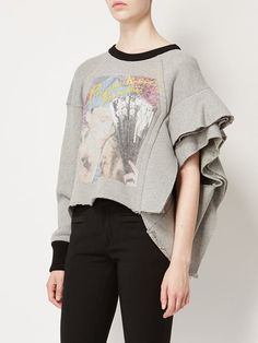 Maison Margiela tiered sleeve sweatshirt