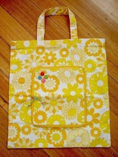 fold and zip shopping tote pattern $5.00