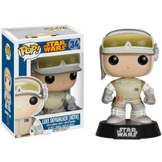 Luke Skywalker Hoth Pop! Vinyl Bobble-head - Gamer Loot