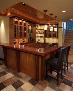 Modern Home Bar Area Design Ideas, Pictures, Remodel, and Decor - page 5