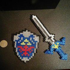 Legend of Zelda perler beads by PixelCat Designs