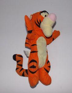 Fisher Price Winnie the PoohTigger Talking Plush Hand Puppet Stuffed Animal Toy  #FisherPrice