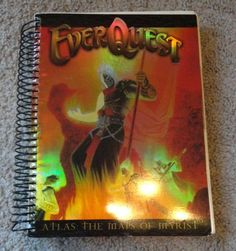 Everquest Atlas:The Maps of Myrist 574 pages Color Illustrated Guidebook