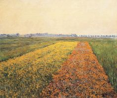 Gustave Caillebotte - The Yellow Fields at Gennevilliers - Gustave Caillebotte - Wikipedia, la enciclopedia libre