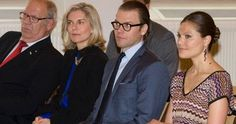 Crown Princess Victoria of Sweden and Prince Daniel visited the Italian Cultural Centre in Stockholm, where they attended an annual meeting