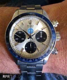 "The ""Pan Am"" Rolex Cosmograph Daytona... - Rolex Passion Report"