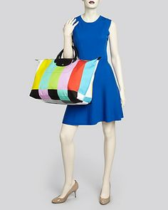 Longchamp Tote - Jeremy Scott Travel | Bloomingdale's