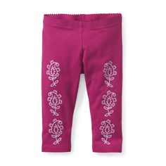 Anandita Capri Leggings | Anandita is an Indian girl's name that means happy. Paisley is one of our favorite motifs, and seeing it on these leggings makes us really happy.