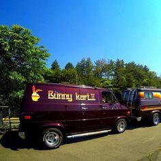 """Bunny Kart II"""" custom 70's boogie van"""