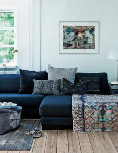 Eclectic nordic home in Denmark // Hermosa casa estilo nórdico ecléctico // casahaus.net