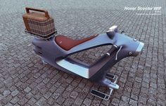 Design Concept Hover Scooter by Vaughan Ling via Engadget